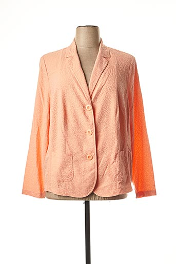 Veste chic / Blazer orange FRANK WALDER pour femme