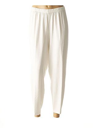 Sarouel blanc SEMPRE PIU BY CHALOU pour femme