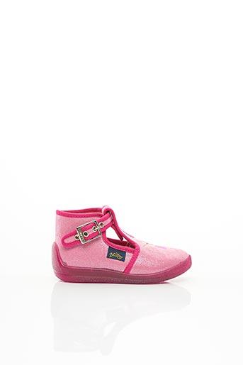 Bottillons rose BELLAMY pour fille