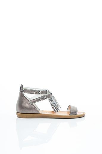 Sandales/Nu pieds marron BELLAMY pour fille