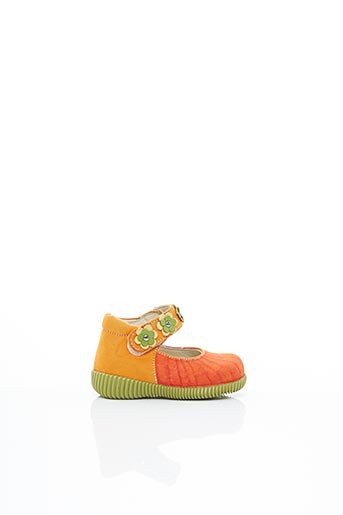 Sandales/Nu pieds orange RAMDAM pour fille
