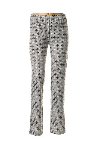 Pantalon casual blanc GEORGEDÉ pour femme