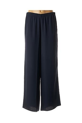 Pantalon casual bleu GEORGEDÉ pour femme