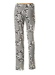 Pantalon casual blanc GEORGEDÉ pour femme seconde vue