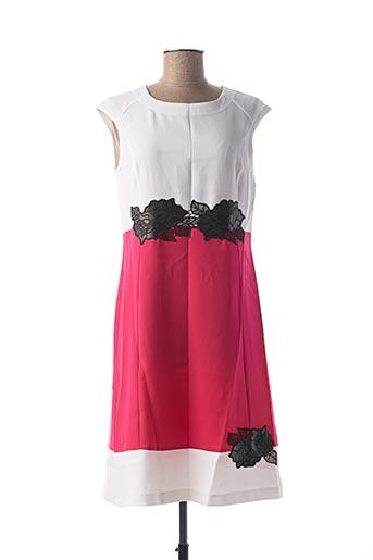 Robe mi-longue rose GEORGEDÉ pour femme
