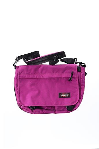 Sac violet EASTPAK pour femme