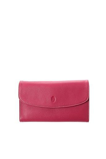 Portefeuille rose FRANCINEL pour femme