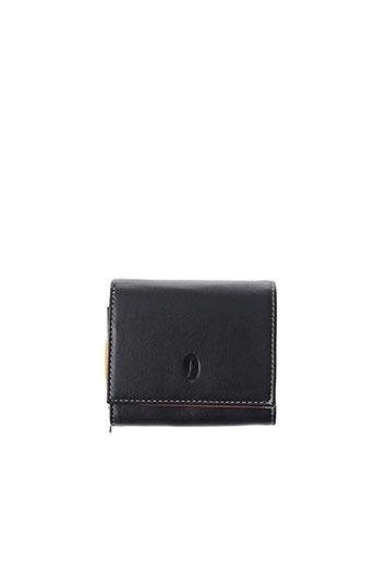 Porte-monnaie noir FRANCINEL pour femme