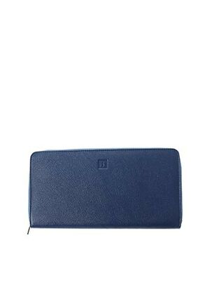 Porte-carte bleu HEXAGONA pour femme