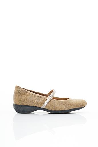 Chaussures de confort beige HASLEY pour femme