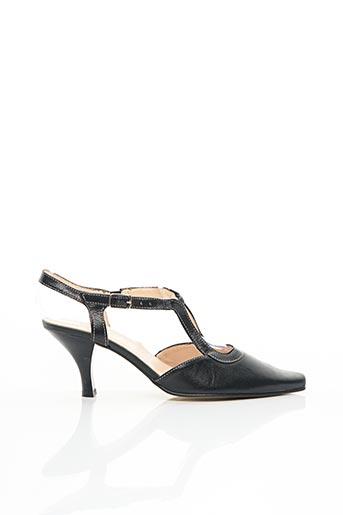 Sandales/Nu pieds noir ELANTINE pour femme