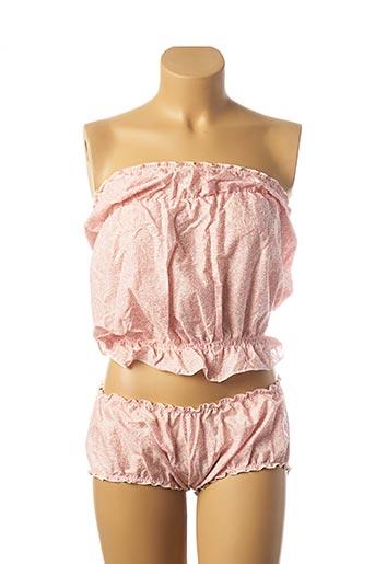 Ensemble lingerie rose L'AIR DE RIEN pour femme