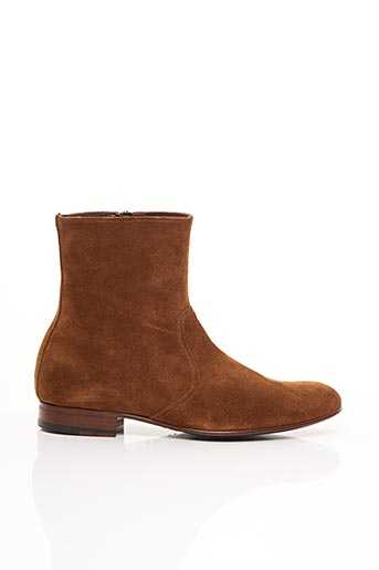 Bottines/Boots marron PHILIPPE ZORZETTO pour homme