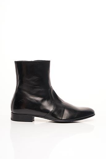 Bottines/Boots noir PHILIPPE ZORZETTO pour homme