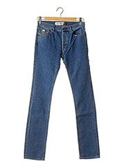 Jeans coupe droite bleu APRIL 77 pour homme seconde vue