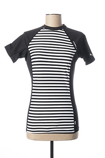 T-shirt manches courtes noir O'NEILL pour femme