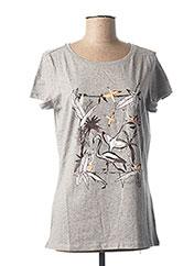 T-shirt manches courtes gris O'NEILL pour femme seconde vue