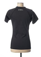 T-shirt manches courtes noir O'NEILL pour femme seconde vue