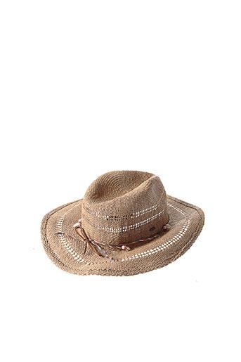 Chapeau beige O'NEILL pour femme
