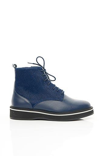 Bottines/Boots bleu MELLOW YELLOW pour femme