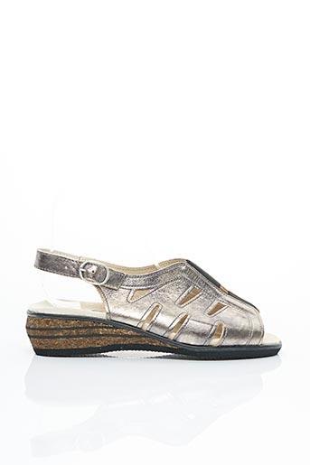 Chaussures de confort beige ACO pour femme