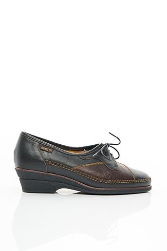 Chaussures de confort vert BERTIN pour femme