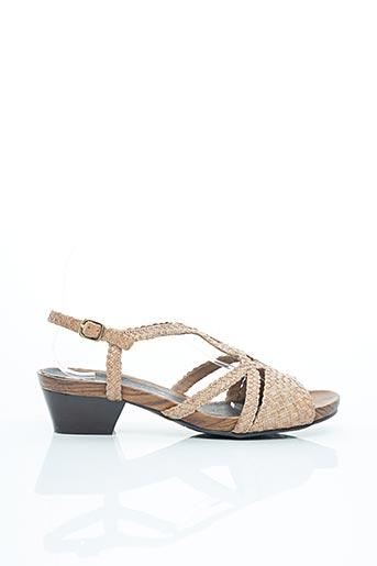Sandales/Nu pieds rose ARA pour femme