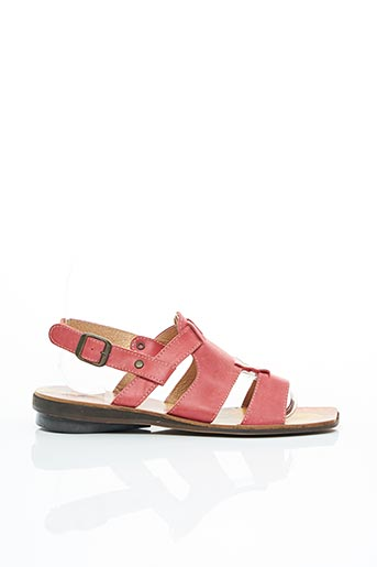 Sandales/Nu pieds rouge AYOKA pour femme