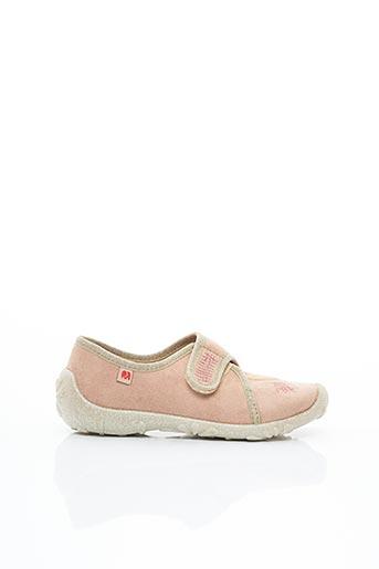 Baskets rose ELEFANTEN pour fille