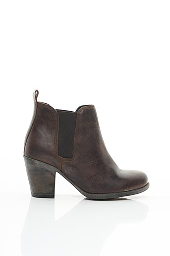 Bottines/Boots marron ELUE PAR NOUS pour femme