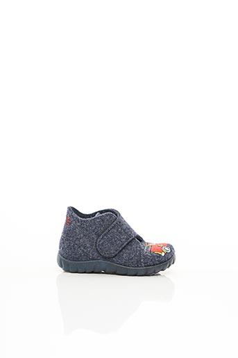 Chaussons/Pantoufles bleu SUPER FIT pour enfant