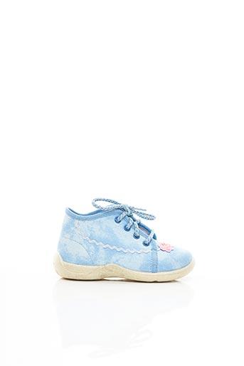 Chaussons/Pantoufles bleu SUPER FIT pour fille