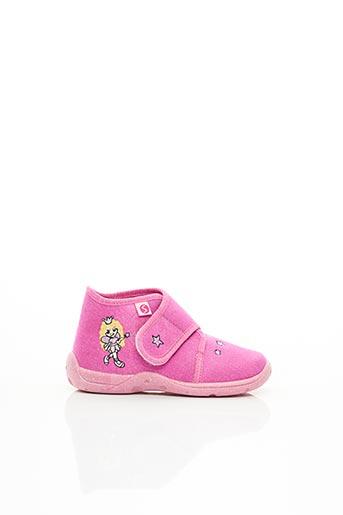 Chaussons/Pantoufles rose SUPER FIT pour fille
