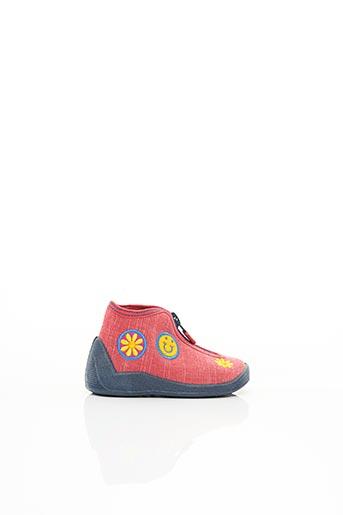 Chaussons/Pantoufles rouge ELEFANTEN pour fille
