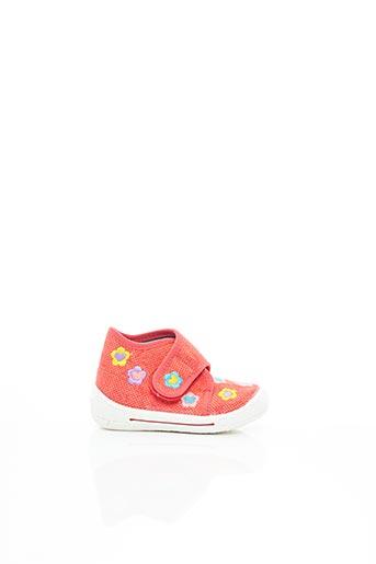 Chaussons/Pantoufles rouge SUPER FIT pour fille