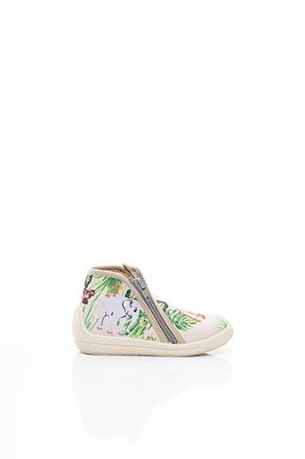 Chaussons/Pantoufles vert BELLAMY pour fille
