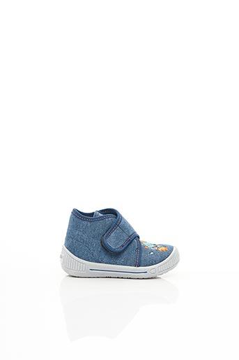 Chaussons/Pantoufles bleu SUPER FIT pour garçon