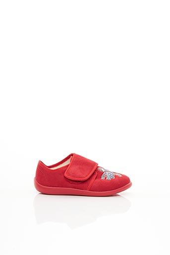 Chaussons/Pantoufles rouge BELLAMY pour garçon