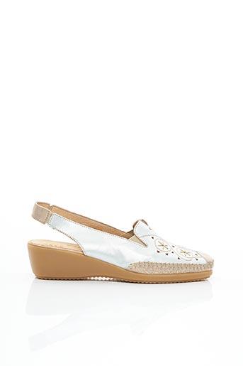 Chaussures de confort gris FLEXELL pour femme