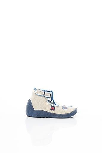 Sandales/Nu pieds beige ELEFANTEN pour enfant
