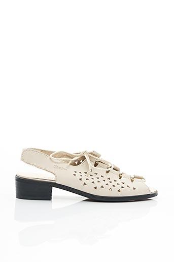 Sandales/Nu pieds blanc BERTIN pour femme