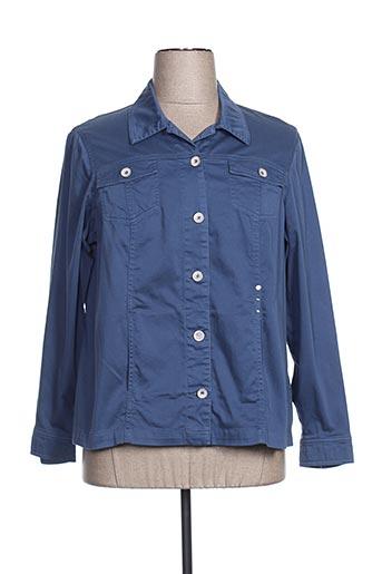Veste casual bleu GUY DUBOUIS pour femme