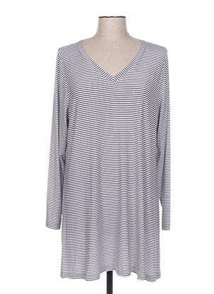 T-shirt manches longues gris ALICE & JANN pour femme