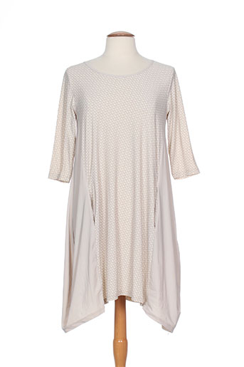 Pull col rond beige G!OZE pour femme