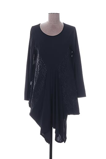 Tunique manches longues noir G!OZE pour femme