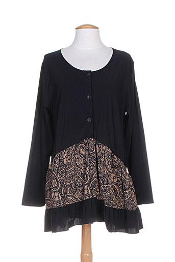 Veste casual noir G!OZE pour femme