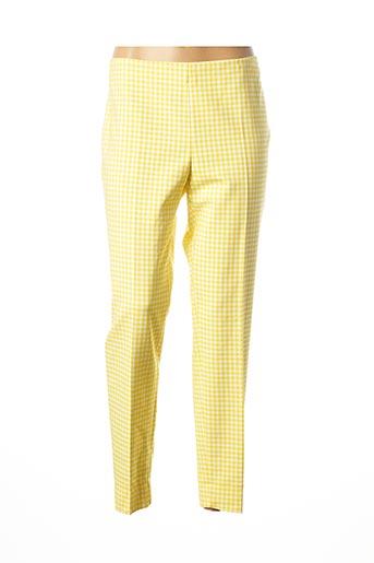 Pantalon casual jaune ATELIER GARDEUR pour femme