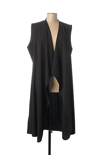 Veste casual noir ELEONORA AMADEI pour femme