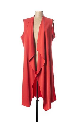 Veste casual orange ELEONORA AMADEI pour femme
