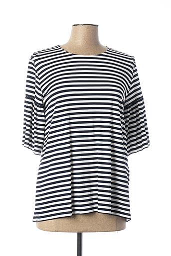 T-shirt manches longues bleu MARELLA pour femme